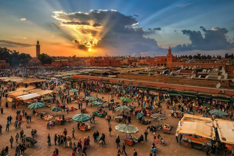 Tour a marrakech tutti in marocco
